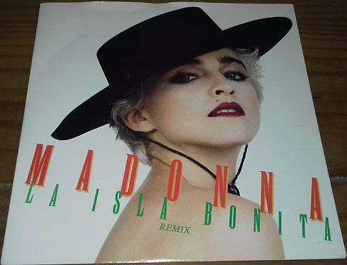 """Madonna - La Isla Bonita (7"""", Single, Sil) (Sire, Sire)"""