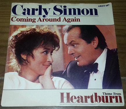 """Carly Simon - Coming Around Again (7"""", Single, Pap) (Arista)"""