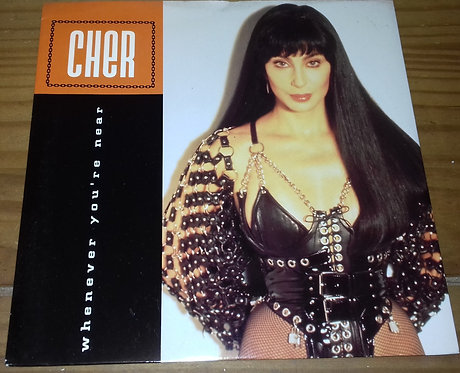 "Cher - Whenever You're Near (7"", Single) (Geffen Records)"
