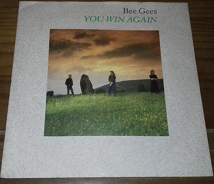 "Bee Gees - You Win Again (7"", Single, Sil) (Warner Bros. Records, Warner Bros."