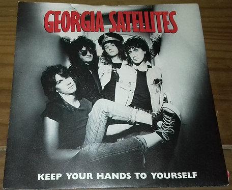 "Georgia Satellites* - Keep Your Hands To Yourself (7"", Single) (Elektra, Elektra"