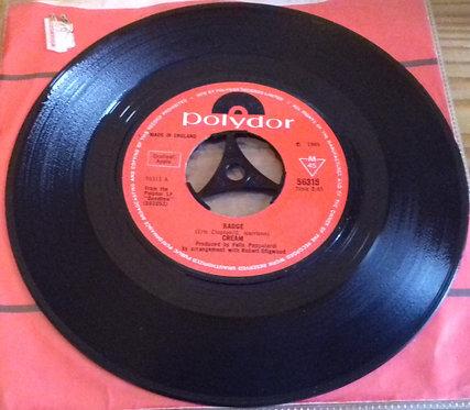 "Cream  - Badge (7"") (Polydor)"