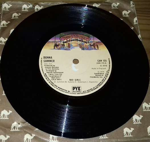 "Donna Summer - Bad Girls (7"", Single) (Casablanca)"