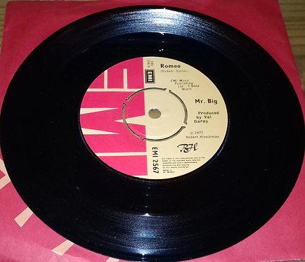 """Mr. Big* - Romeo (7"""", Single) (EMI)"""