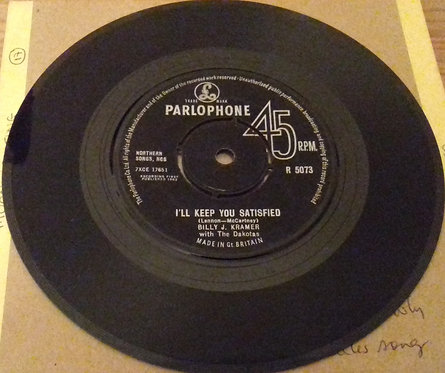 "Billy J. Kramer With The Dakotas* - I'll Keep You Satisfied (7"", Single) (Parlo"