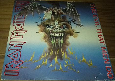 """Iron Maiden - The Evil That Men Do (7"""", Single, Mou) (EMI)"""
