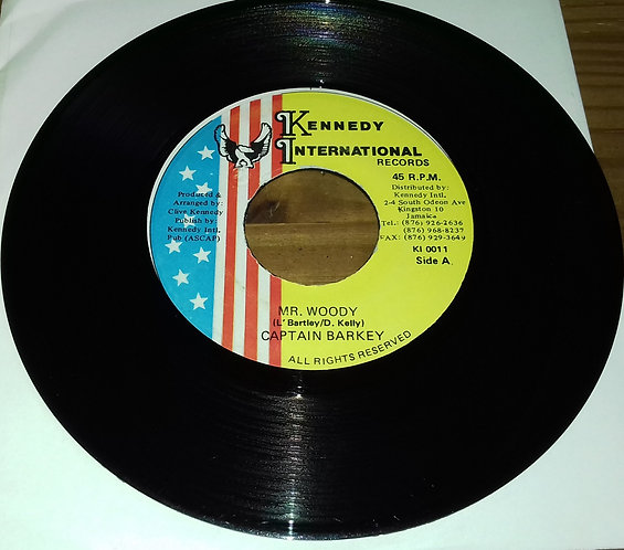 "Captain Barkey - Mr. Woody (7"") (Kennedy International Records, Kennedy Internat"