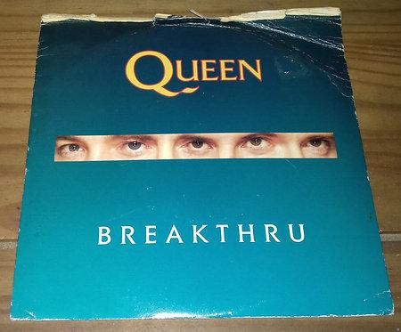 "Queen - Breakthru (7"", Single, Whi) (Parlophone)"