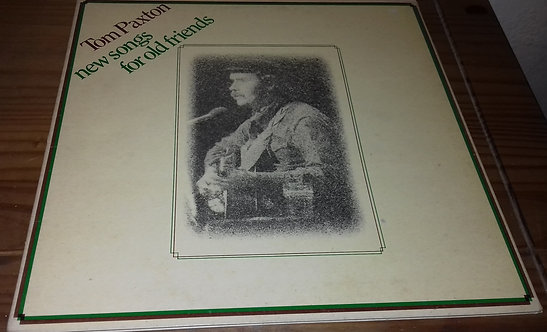Tom Paxton - New Songs For Old Friends (LP, Album, Gat) (Reprise Records)