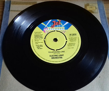 "Electric Light Orchestra - Telephone Line (7"", Single) (Jet Records)"