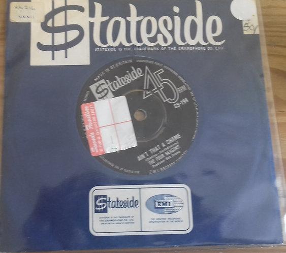 "The Four Seasons - Ain't That A Shame (7"", Single) (Stateside)"