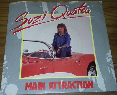 """Suzi Quatro - Main Attraction (7"""") (Polydor)"""