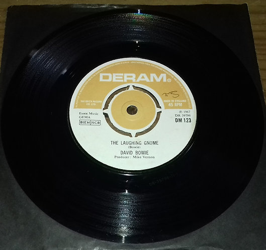 """David Bowie - The Laughing Gnome (7"""", RE) (Deram)"""