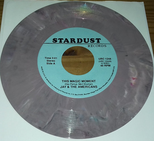 """Jay & The Americans - This Magic Moment (7"""", Mar) (Stardust Records)"""