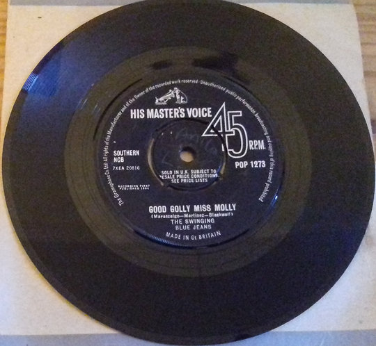 "The Swinging Blue Jeans - Good Golly Miss Molly (7"", Single) (His Master's Voice"
