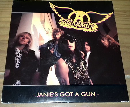 "Aerosmith - Janie's Got A Gun (7"") (Geffen Records, Geffen Records)"