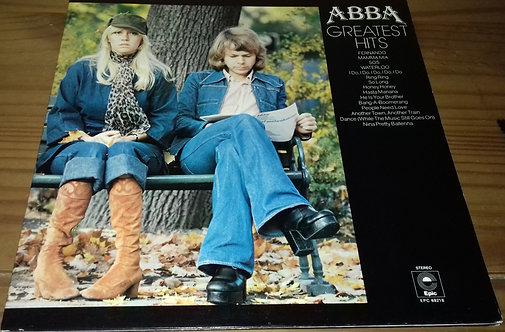 ABBA - Greatest Hits (LP, Album, Comp, Yel) (Epic, Epic, Epic)