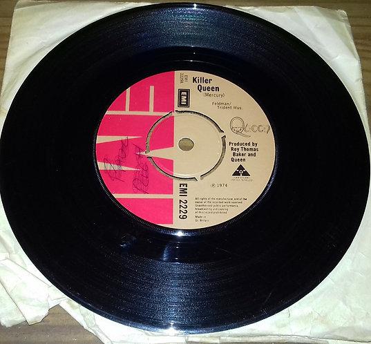 """Queen - Killer Queen / Flick Of The Wrist (7"""", Single) (EMI)"""