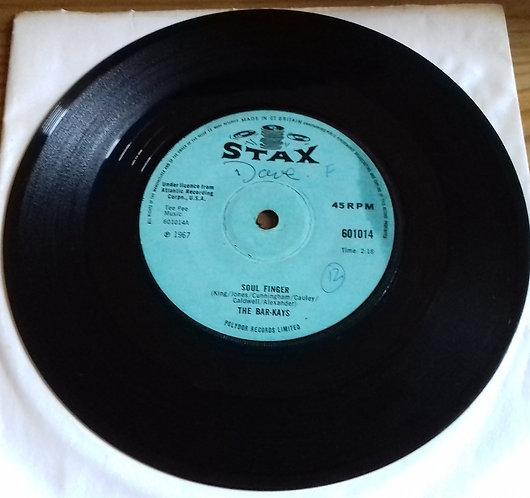 "Bar-Kays - Soul Finger / Knucklehead (7"", Single, Sol) (Stax)"