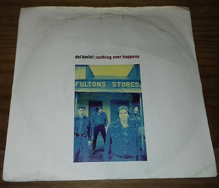 """Del Amitri - Nothing Ever Happens (7"""", Single) (A&M Records, A&M Records)"""