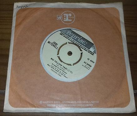 "Joni Mitchell - Big Yellow Taxi (7"") (Reprise Records)"