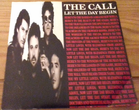"""The Call - Let The Day Begin (7"""", Single, Inj) (MCA Records)"""