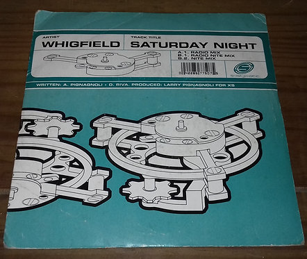 """Whigfield - Saturday Night (7"""", Single) (Systematic, Systematic)"""