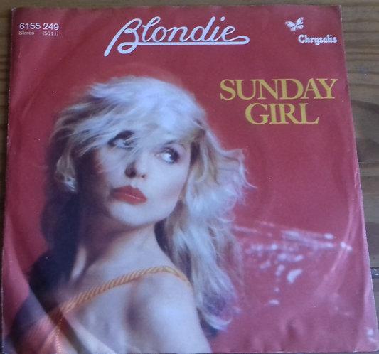 "Blondie - Sunday Girl (7"", Single) (Chrysalis)"