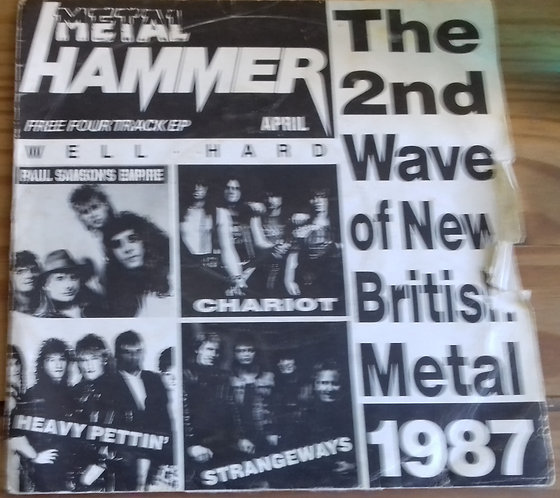"""Various - The 2nd Wave Of New British Metal 1987 (7"""", EP, Promo) (Metal Hammer)"""