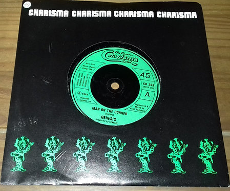 "Genesis - Man On The Corner (7"", Single) (Charisma, Charisma)"