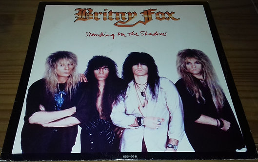 "Britny Fox - Standing In The Shadows (12"") (CBS)"