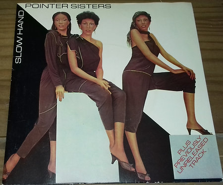 """Pointer Sisters - Slow Hand (7"""", Single, Pap) (Planet (15), Planet (15), Planet"""