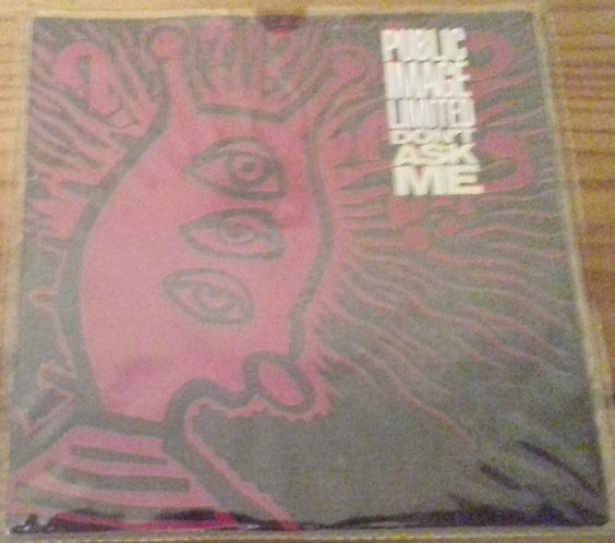 "Public Image Limited - Don't Ask Me (7"", Single, Inj) (Virgin)"