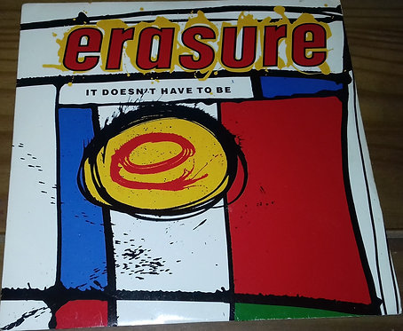 "Erasure - It Doesn't Have To Be (7"", Single) (Mute)"