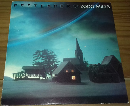 """Pretenders* - 2000 Miles (7"""", Gat) (Real Records (2), Real Records (2), Real Rec"""