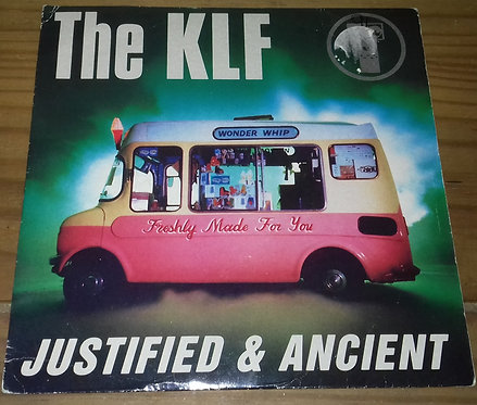 """The KLF - Justified & Ancient (7"""", Single) (KLF Communications)"""