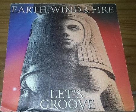 "Earth, Wind & Fire - Let's Groove (7"", Single, Pap) (CBS)"