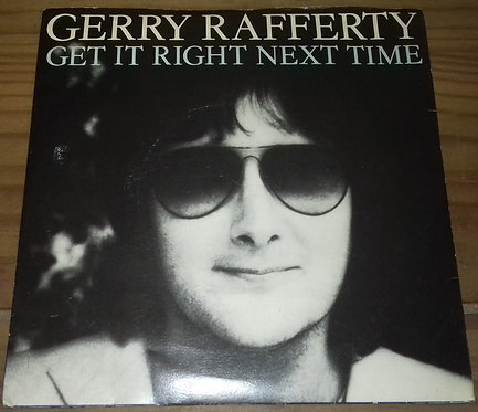 "Gerry Rafferty - Get It Right Next Time (7"", Single, Pus) (United Artists Record"