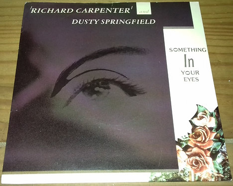 """Richard Carpenter And Dusty Springfield - Something In Your Eyes (7"""", Single) ("""