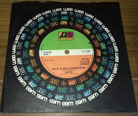 "AC/DC - Rock 'N' Roll Damnation (7"", Single, RP) (Atlantic, Atlantic)"