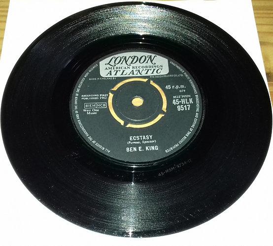 "Ben E. King - Ecstasy (7"") (London Records, London American Recordings, London"