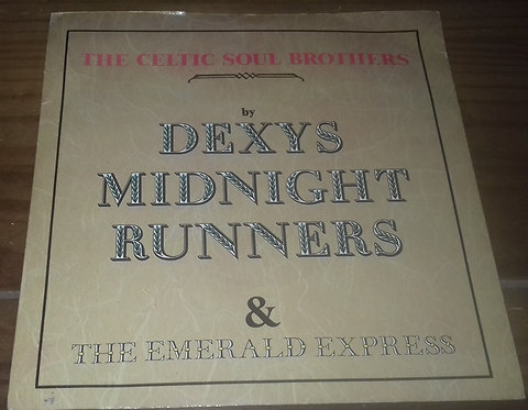 """Dexys Midnight Runners & The Emerald Express - The Celtic Soul Brothers (7"""", Sin"""