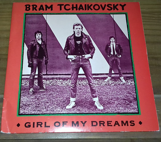 "Bram Tchaikovsky - Girl Of My Dreams (2x7"", Gat) (Radar Records (5), Radar Recor"