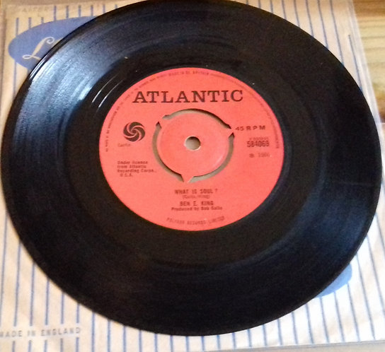 "Ben E. King - What Is Soul? (7"", Single) (Atlantic)"