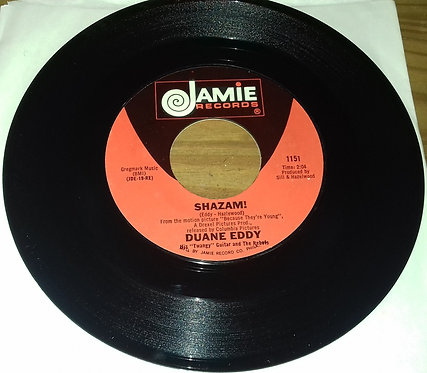 "Duane Eddy His ""Twangy"" Guitar And The Rebels* - Shazam! / The Secret Seven (7"")"
