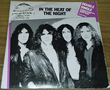 "Diamond Head  - In The Heat Of The Night (2x7"", Gat) (MCA Records, MCA Record"