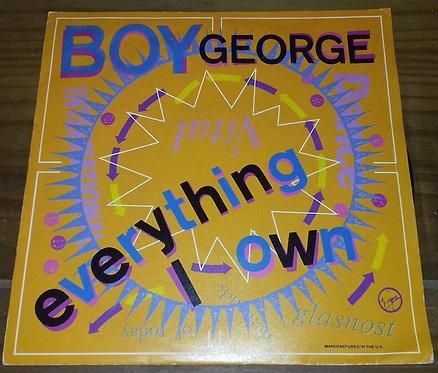 "Boy George - Everything I Own (7"", Single, Sle) (Virgin)"