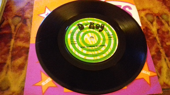 """Tyrone David - Mind Blowing Decisions (7"""", Single) (D-Roy Records)"""