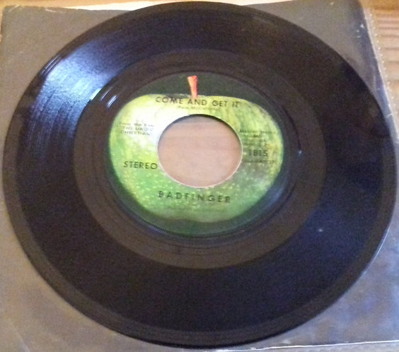 """Badfinger - Come And Get It (7"""", Single, Scr) (Apple Records)"""