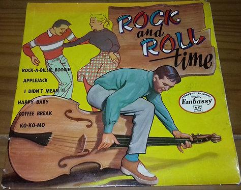 """The Rock'N Rollers , directed by Ken Jones  - Rock'N Roll Time (7"""", EP) (Emba"""